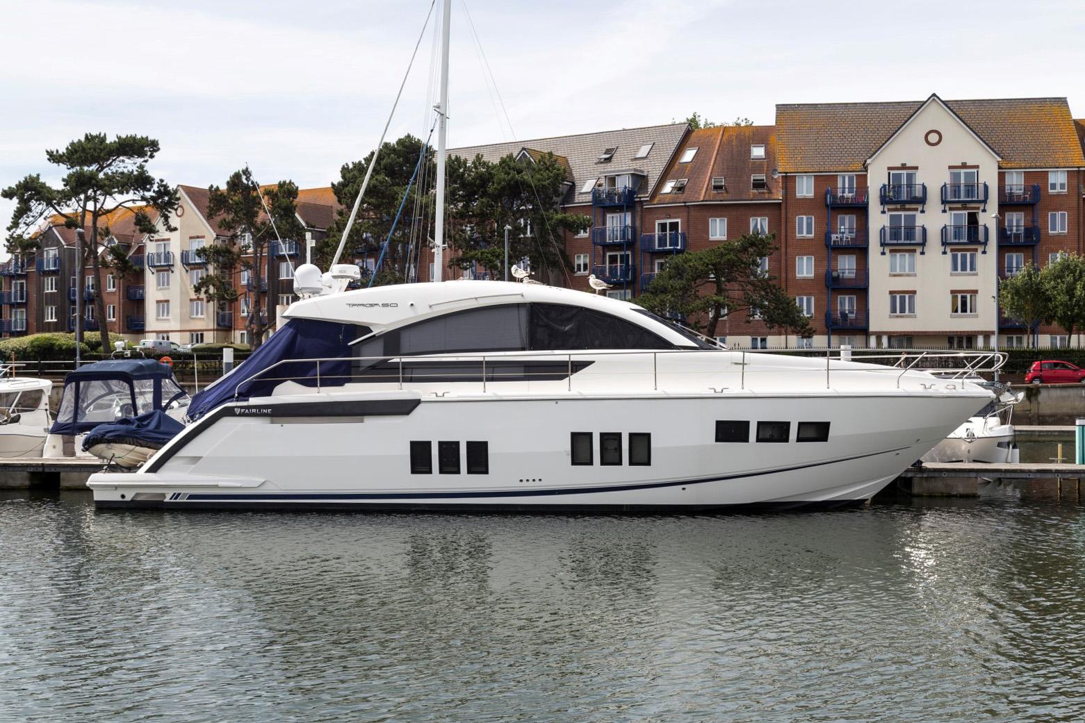 Fairline Targa 50 Gt Til Salg Dansk Yacht Import