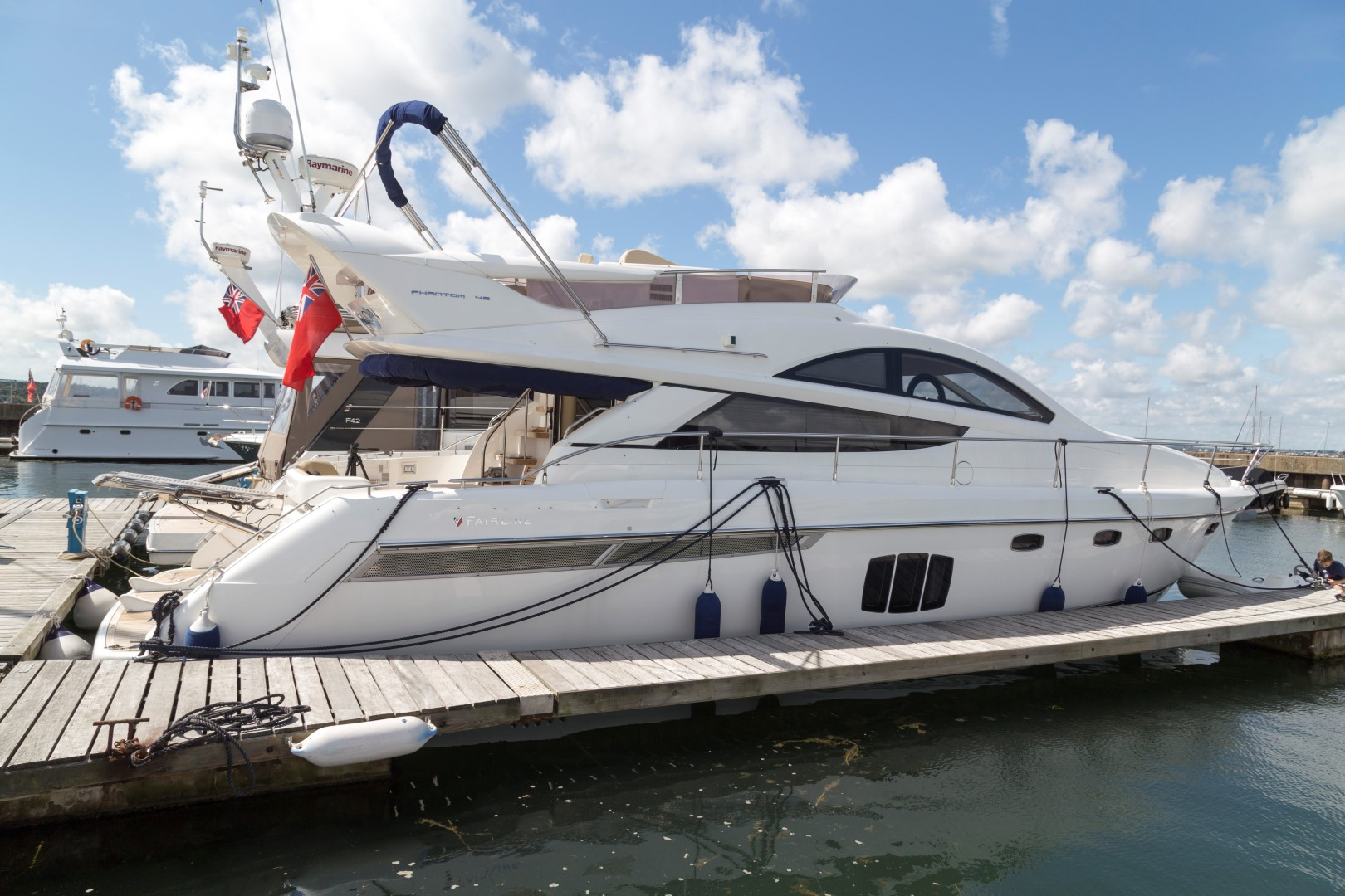 bimini top fairline phantom
